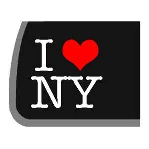 I Love NY Car Decal / Sticker Automotive