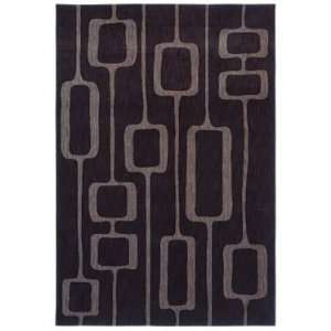 Adams Black Manfred 06500 Rug, 77 by 1010 Furniture & Decor