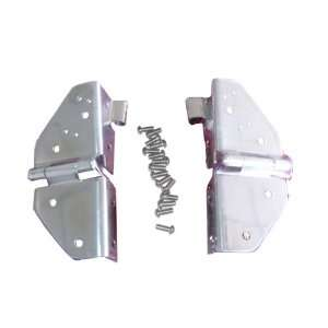 Rugged Ridge 11112.01 Stainless Windshield Hinge   Pair