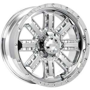 Gear Alloy Nitro 20x9 Chrome Wheel / Rim 6x5.5 & 6x135 with a 18mm