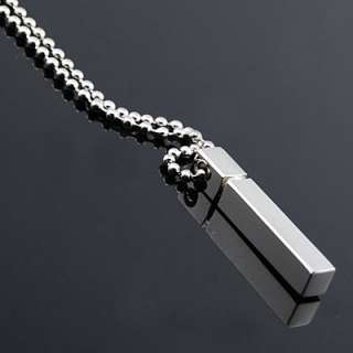 Men Stainless Steel Fashion Rings Pendant Necklace 154