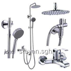 Brand New Wall Mounted Rain Shower Faucet Set JD 1410