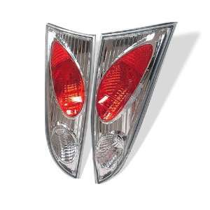 00 04 Ford Focus 5Dr Euro Taillights   Chrome Automotive