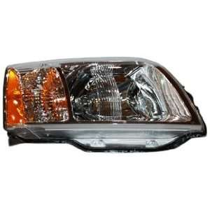 TYC 20 6987 00 Mitsubishi Endeavor Passenger Side Headlight Assembly