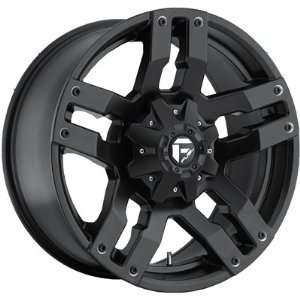 Fuel Pump 18x9 Black Wheel / Rim 6x4.5 & 6x5 with a 14mm Offset and a
