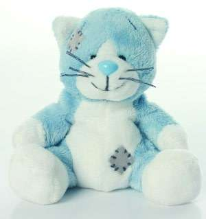Blue Nose Friends Cat 4 inch Plush by Carte Blanche Greetings Ltd