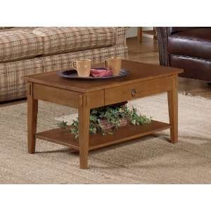 The Simple Stores 8010 01   Rectangular Coffee Table (Oak
