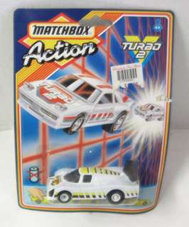 SEALED MATCHBOX ACTION DIECAST CAR TURBO 2 1987 #2
