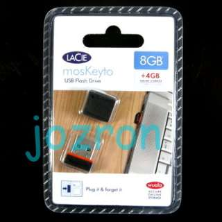 LaCie MosKeyto 8GB 8G USB Flash Pen Drive Disk Wuala