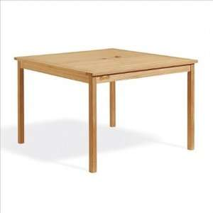 Oxford Garden 42 Square Dining Table with 4 Chadwick