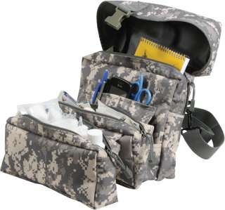 Military Army Digital MOLLE Medical First Aid Kit Bag