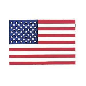 American Flag Decal   Face Gum   Package of 12 Automotive