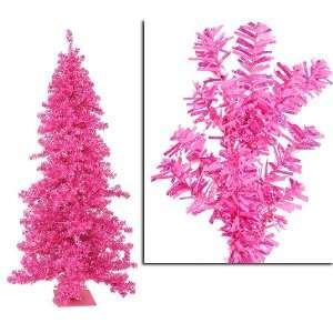 Cut Laser Tinsel Artificial Christmas Tree   Unlit