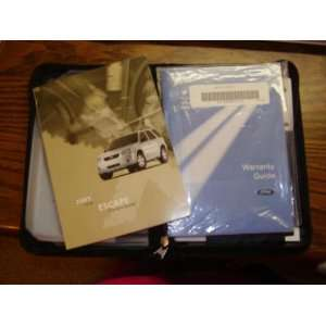 2005 Ford Escape Hybrid Owners Manual Automotive