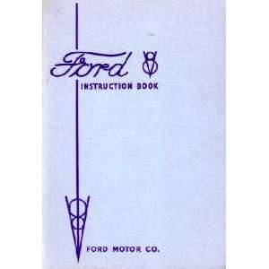 1935 FORD V 8 V8 Car Owners Manual User Guide Automotive