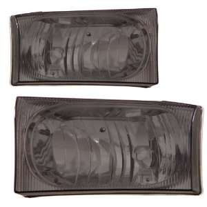2000 2004 Ford Super Duty KS Smoke Headlights Automotive