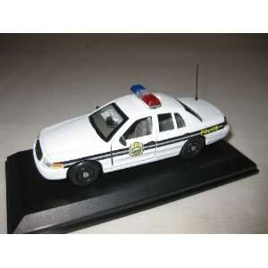 CUSTOM 1/43 Thurmont MD Police Ford Crown Vic #1 Toys