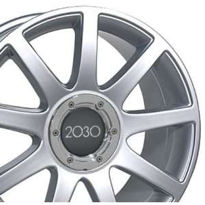 RS4 Style Wheel Fits Audi   Silver 18x8 Automotive