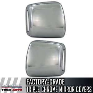 07 12 Toyota Tundra TOW Chrome Mirror Covers With Turn