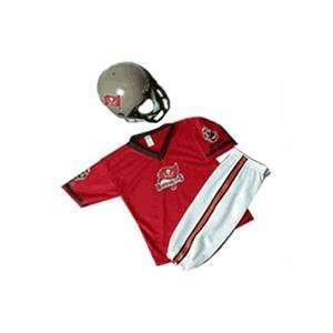 Tampa Bay Buccaneers Youth NFL Team Helmet and Uniform Set