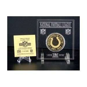 INDIANAPOLIS COLTS OFFICIAL GAME COIN