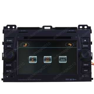 Toyota Landcruiser Prado Car GPS Navigation ATSC TV DVD
