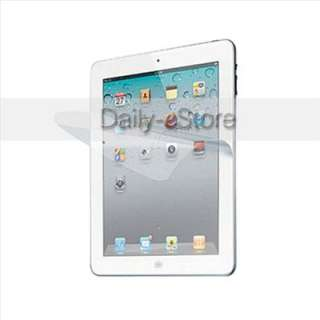Clear LCD Screen Protector Films Shield For iPad 2&The New iPad 3rd