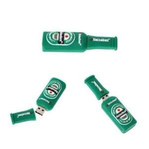 16GB Beer Bottle Shape USB 2.0 Flash Memory Drive