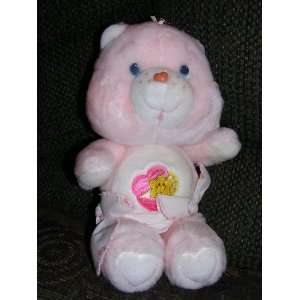 Care Bears Plush 11 Pink Baby Hugs Bear from 1983 Toys & Games