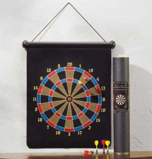 POOL ROOM BAR WALL MAGNETIC DARTBOARD GAME DART BOARD