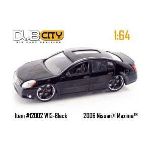 Jada Dub City Black Nissan Maxima 164 Scale Die Cast Car