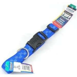 Coastal 1 TUFF Adjustable Nylon Dog Collar, Blue