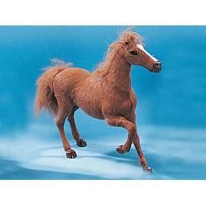 Horse Right Leg Up Collectible Figurine Pony Statue Decoration Model