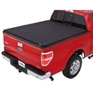 Black Pearl Tri Fold Tonneau Cover for Select Ford Models Automotive