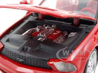 car model of Ford Mustang GT Concept Convertible Red die cast car by