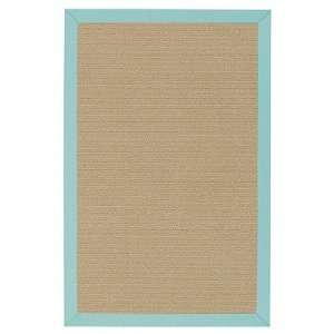 Capel 2247 400 South Bay Canvas Ice Blue Indoor / Outdoor Rug Size 5