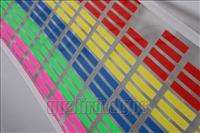 70*16cm 5 colors Sound music Activated Car Stickers Equalizer Glow 12V