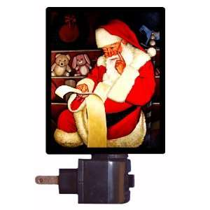 Christmas Night Light   Thoughtful Santa   LED NIGHT LIGHT