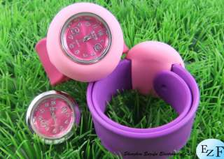 NEW FASHION kid ' s slap wrist watch