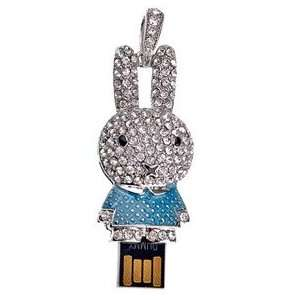 2GB U Disk Miffy Style USB Flash Memory Drive with