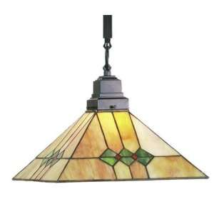 Martini Mission Tiffany Stained Glass Pendant Lighting