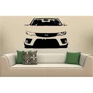 Wall MURAL Vinyl Sticker Car KIA CERATO KOUP S. 1852