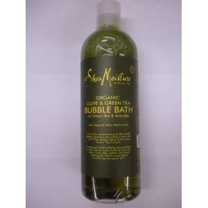 Shea Moisture Organic Oilve&Green Tea Bubble Bath