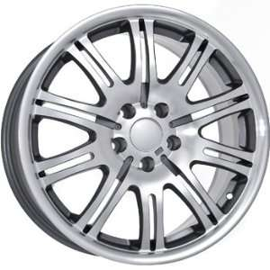 BMW 17 INCH WHEELS SILVER WHEELS RIMS Automotive