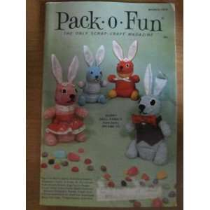 Pack o Fun Scrap Craft Magazine March 1975 Everything
