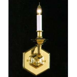 Crystorama Historical Brass Collection Wall Sconce model