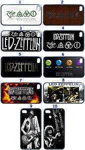 Led Zeppelin Band Fans Custom Design iPhone 4 iPhone 4S Case