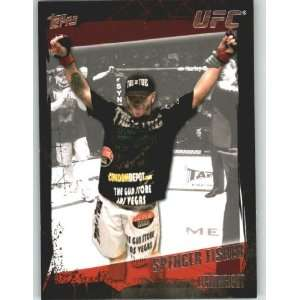 2010 Topps UFC Trading Card # 122 Spencer Fisher (Ultimate Fighting