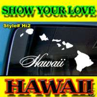 HAWAII HAWAIIAN ISLANDS VINYL DECAL STICKER DAKINE HANU