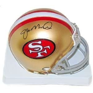 Joe Montana Autographed San Francisco 49ers Mini Football